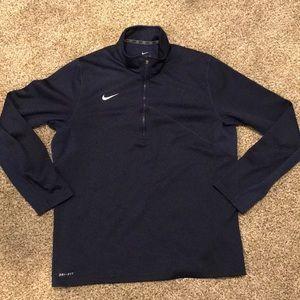 Men's large Nike Dri-Fit 1/4 Zip